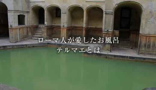 お風呂にかける情熱はお湯より熱い!古代ローマ人が愛したテルマエを語ろう