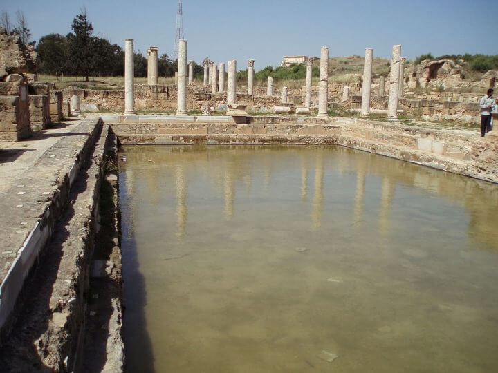 レプティス・マグナのハドリアヌス浴場