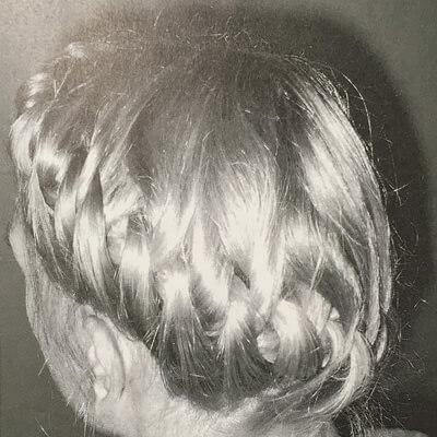 女性闘士の髪型