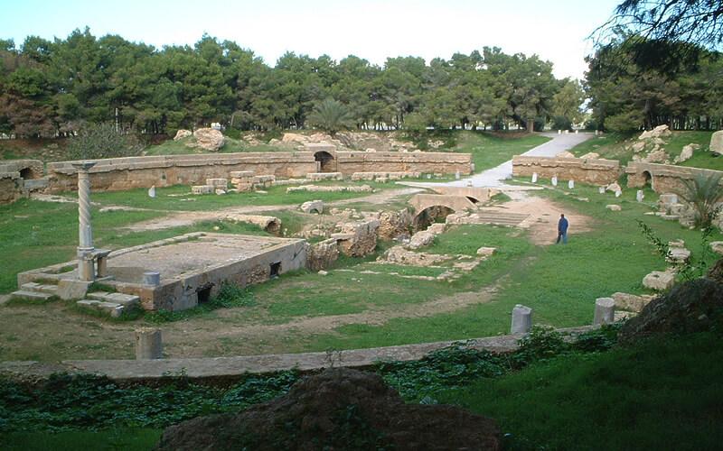 チュニジア・カルタゴの円形闘技場