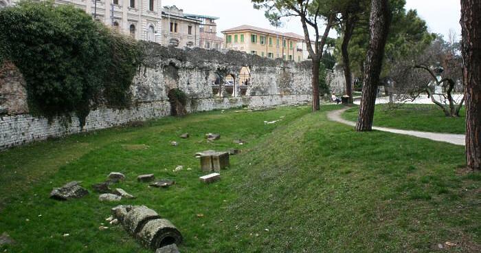 イタリア・パドヴァの円形闘技場