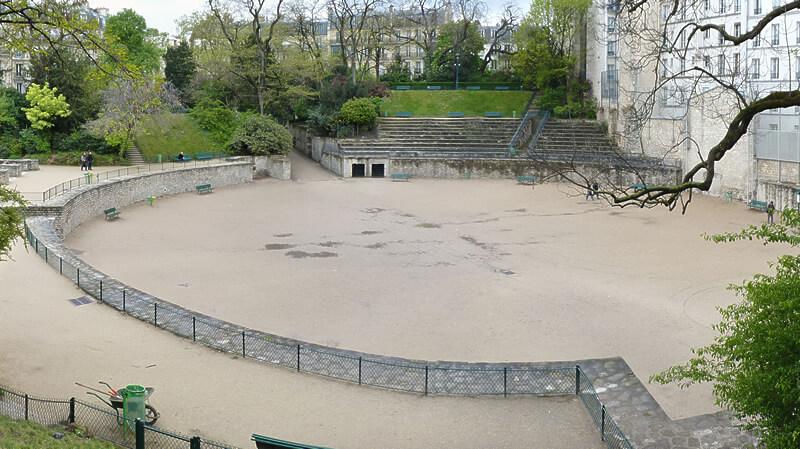 フランス・パリの円形闘技場