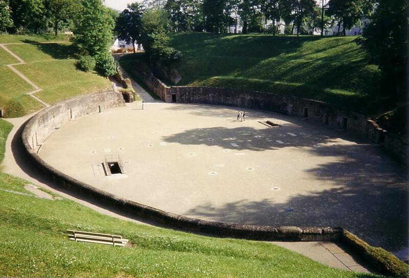 ドイツ・トーリアの円形闘技場