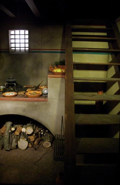 ドムスの階段