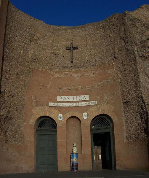 ディオクレティアヌス浴場