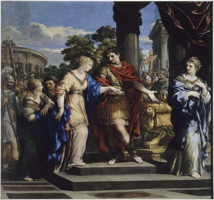 クレオパトラとカエサル
