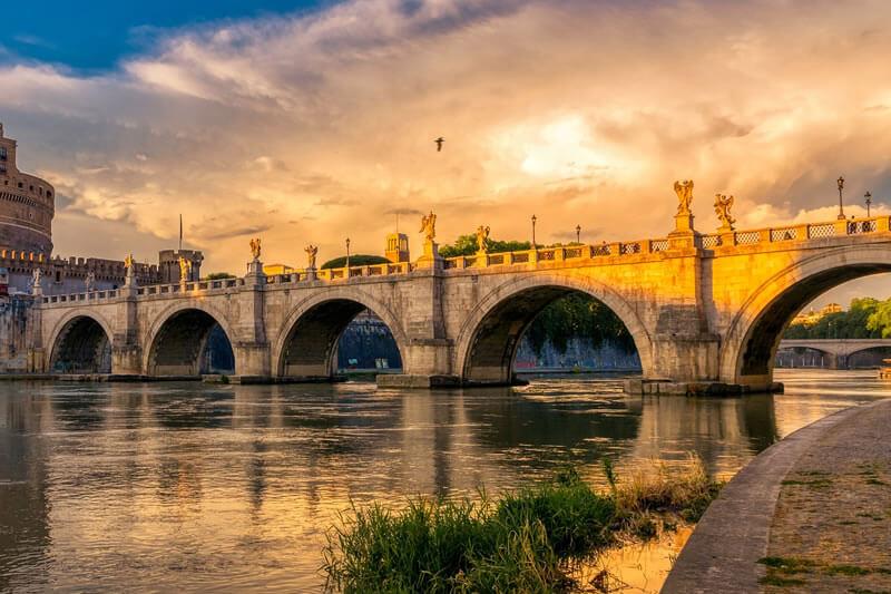 アエリウス橋(サンタンジェロ橋)