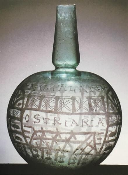 球状瓶の写真