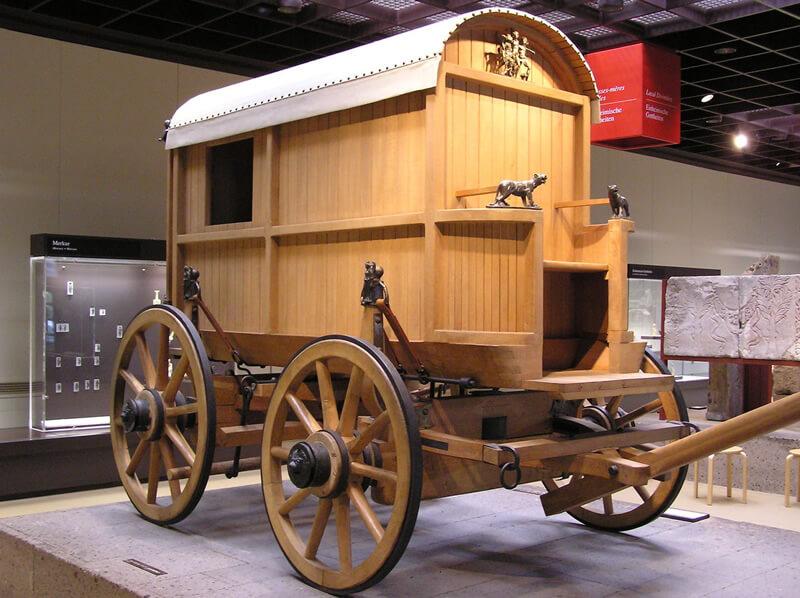 古代ローマの4輪車両