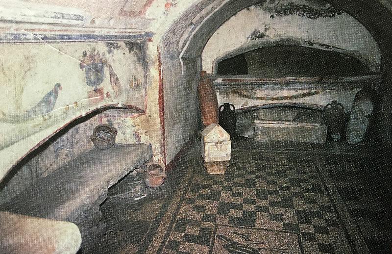 サン・セバスティアーノのカタコンベ2枚目の写真