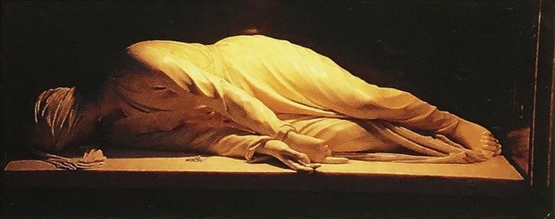聖チェチリア像