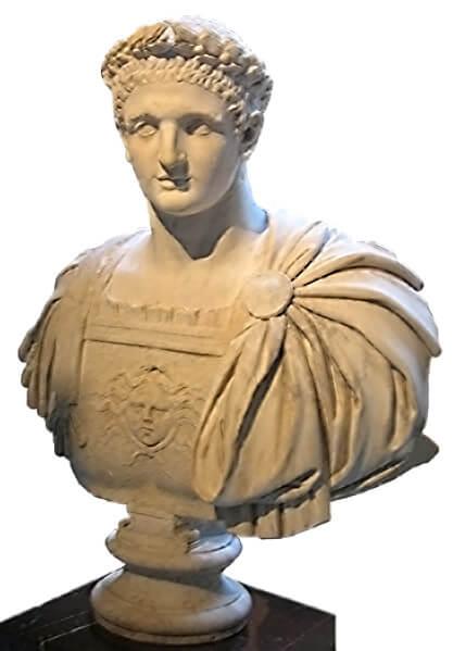 ドミティアヌス胸像