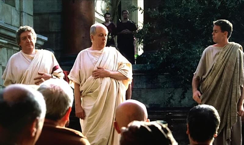 古代ローマの裁判の映像