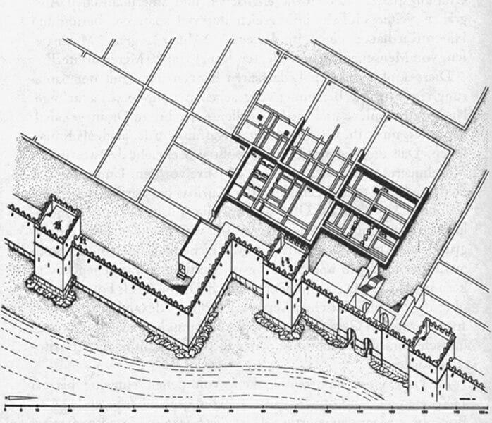カルタゴ都市の図