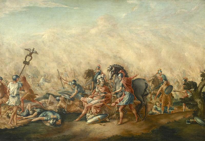 執政官パウルスの最期の絵画