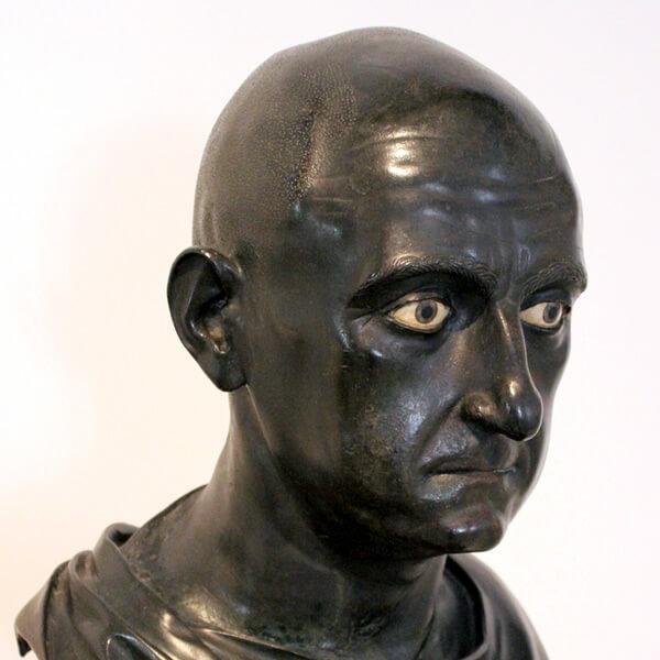 スキピオ・アフリカヌスの胸像写真
