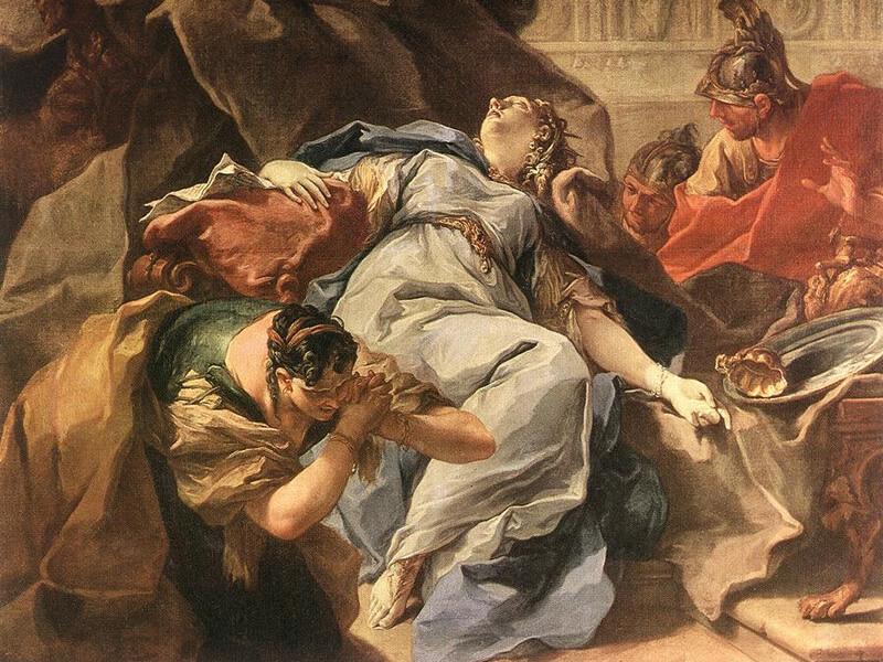 ソフォニバの悲劇の絵画