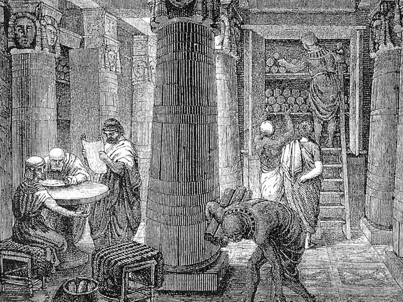 アレクサンドリア図書館のイメージ