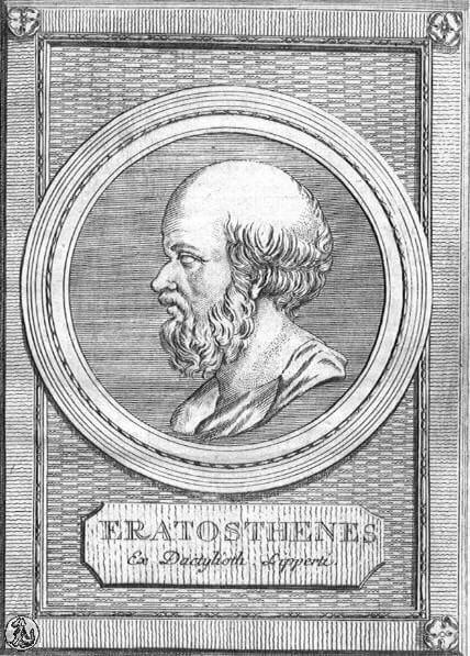 エラトステネスの画像
