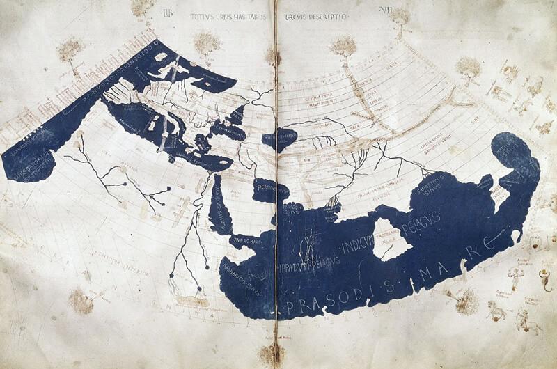 プトレマイオスの地図の画像