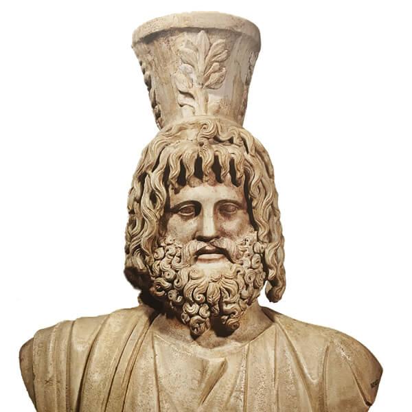 セラピス神の像の画像