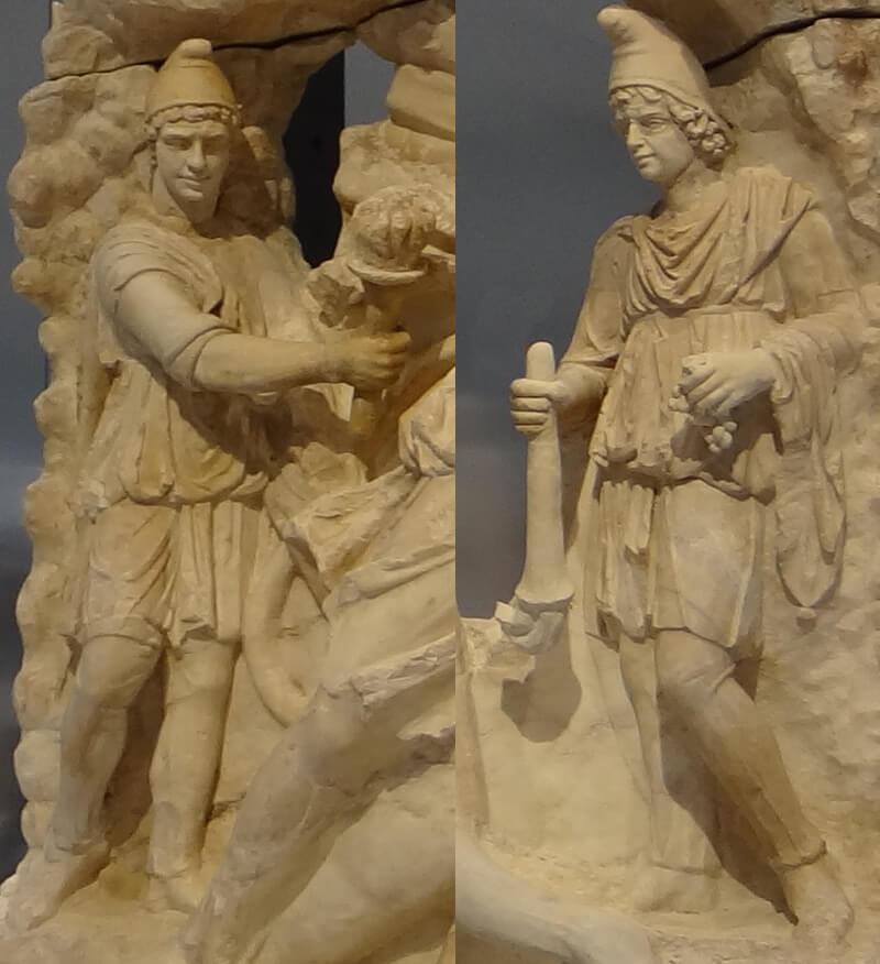 カウテス・カウトパテス(ミトラ神像)の写真