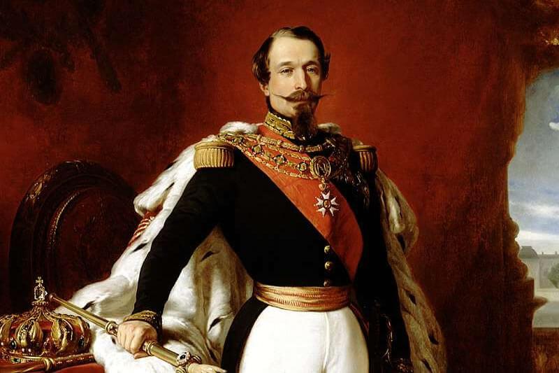 ナポレオン3世の肖像画