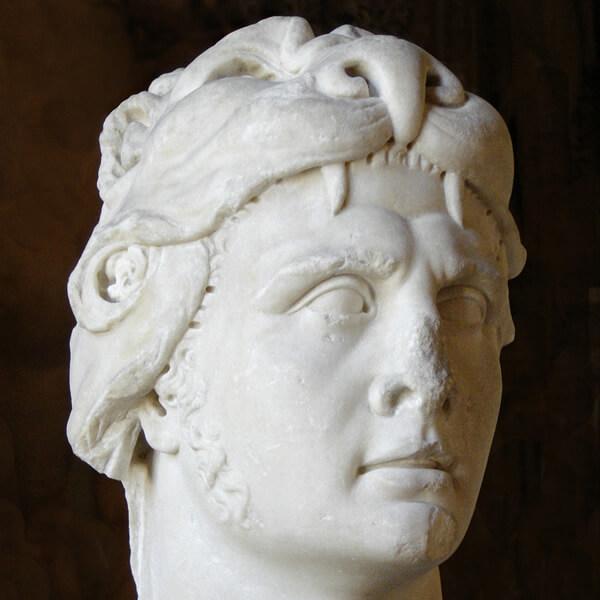 ミトリダテス6世の彫像(ルーブル美術館)