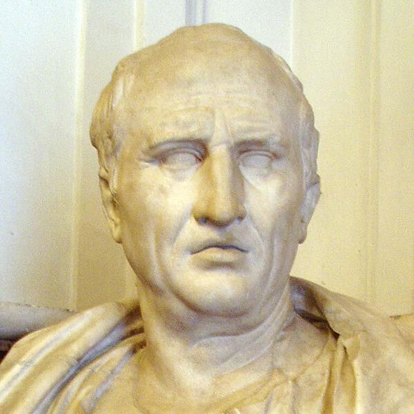 キケロの彫像