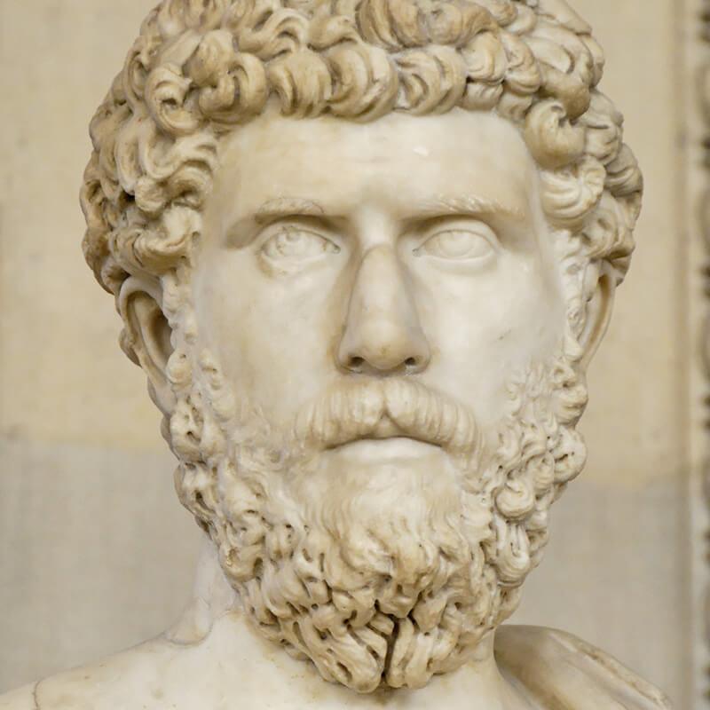 ルキウス・アエリウス・カエサルの胸像