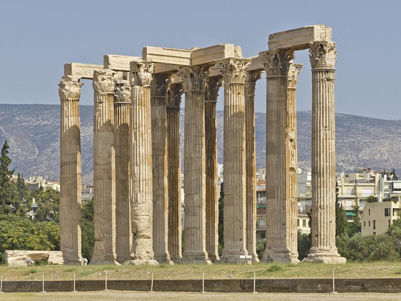 ゼウス神殿の写真